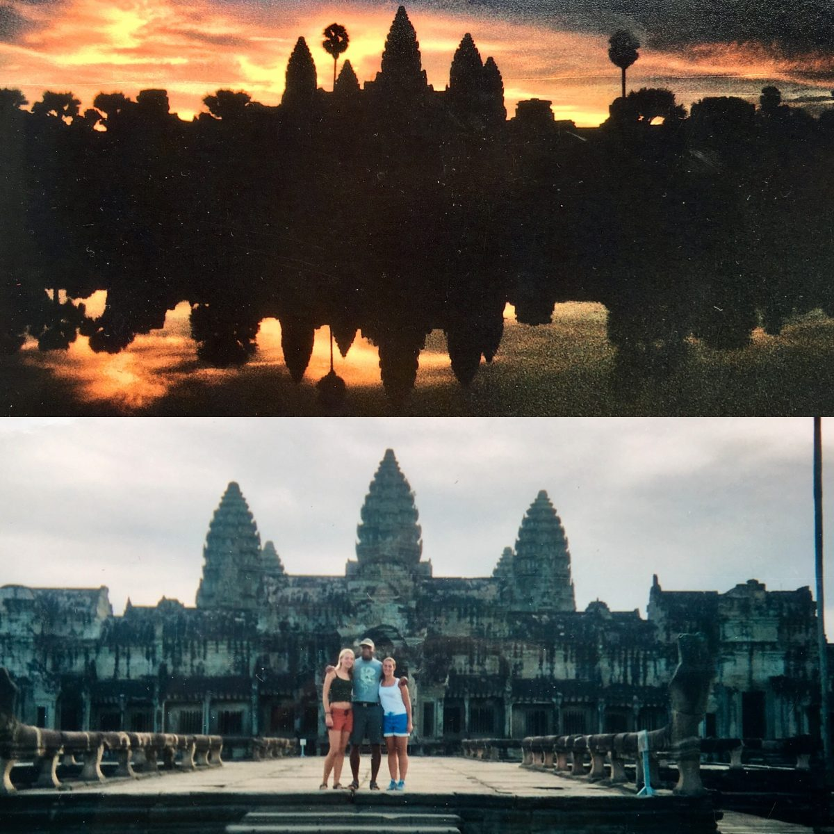 sunrise Angkor wat Cambodia