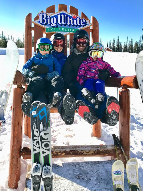 Big White Ski Resort, family skiing, snowboarding