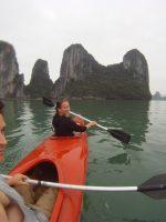 kayaking, Halong bay, Vietnam