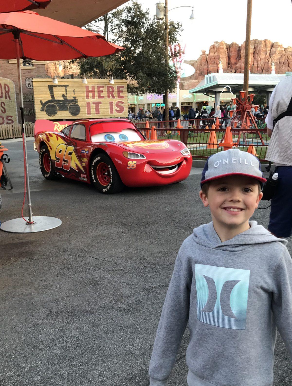 Cars Land Disney California Adventure