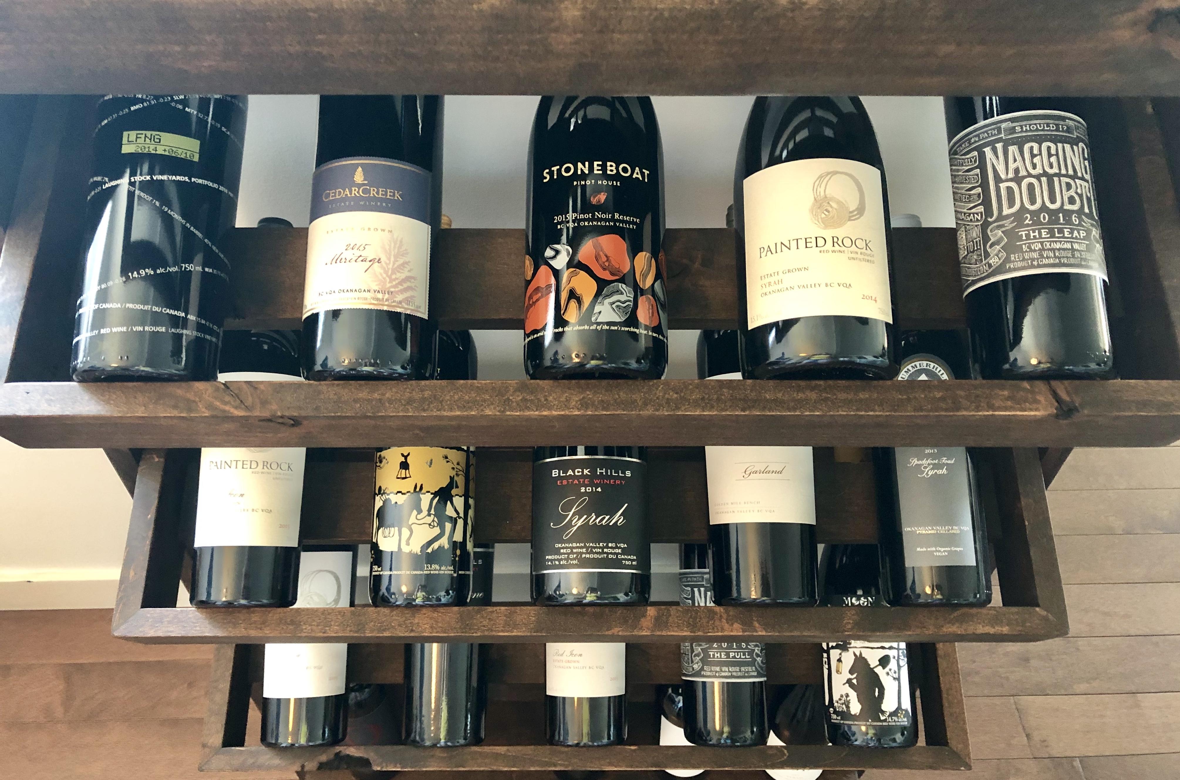 best okanagan valley red wine