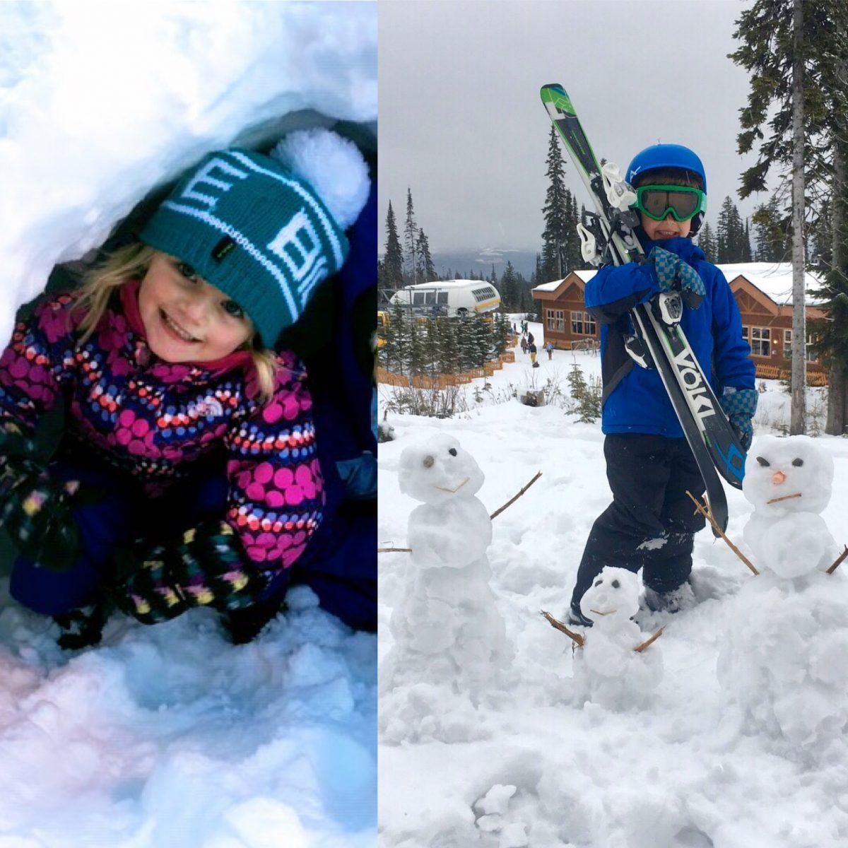 snow activities canada
