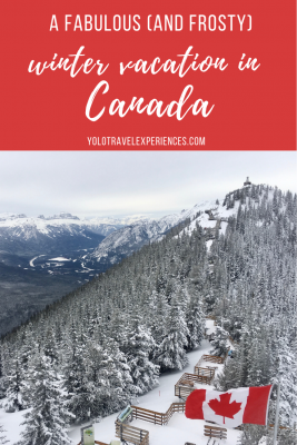 winter vacation in canada